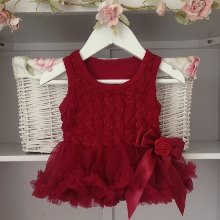 Deep Berry Baby Belle Tutu Dress