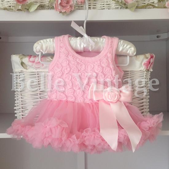 Ballet Pink Baby Belle Tutu Dress Belle Vintage