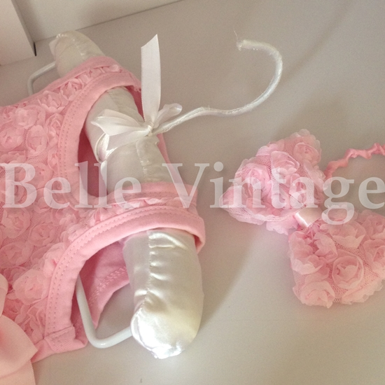 Matching Bow hairband also available to buy