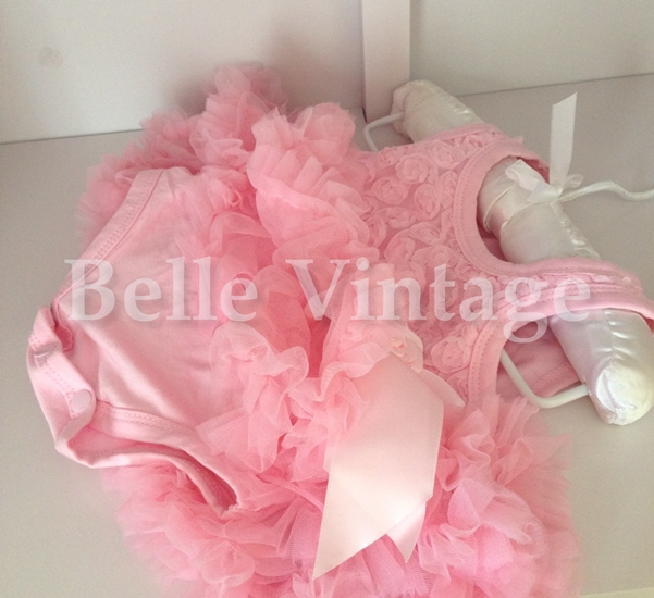 ca033ecf558f Ballet Pink Baby Belle Tutu Dress
