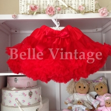 Rose Red Belle Tutu