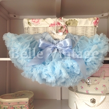 Light Powder Blue Belle Tutu