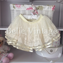 Ivory Butterfly Skirt