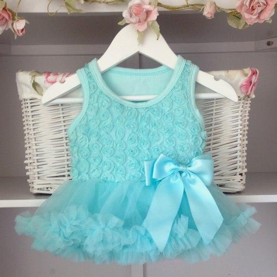 Mint Baby Belle Tutu Dress Belle Vintage