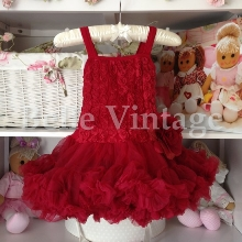 Rich Berry Belle Tutu Dress