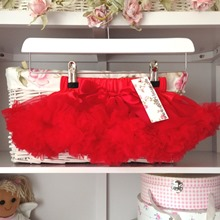 Holly Red Baby Tutu