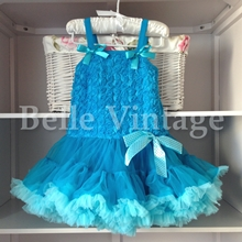 Turquoise Blue Belle Tutu Dress