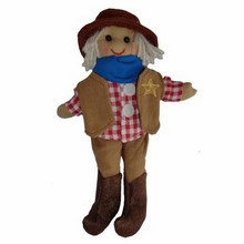 Small Cowboy Rag Doll